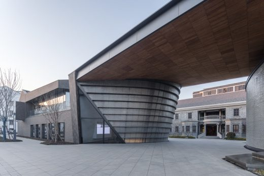 Suzhou building East of Cangjie, Ganjiang North Road design by LACIME Architects