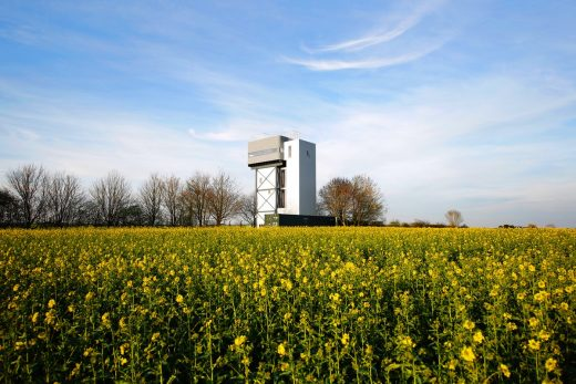 The Water Tower design by Tonkin Liu Architects UK