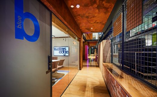 Water's Edge Dundee workplace building interior design