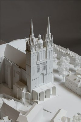 Angers Cathedral building France