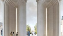 Angers Cathedral building design France