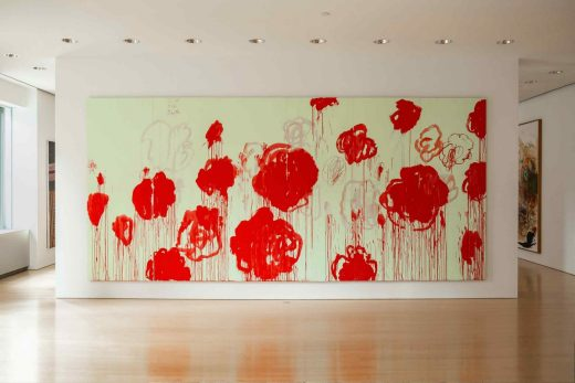 Cy Twombly Sotheby's Beverly Hills