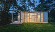 Girona house in the woods