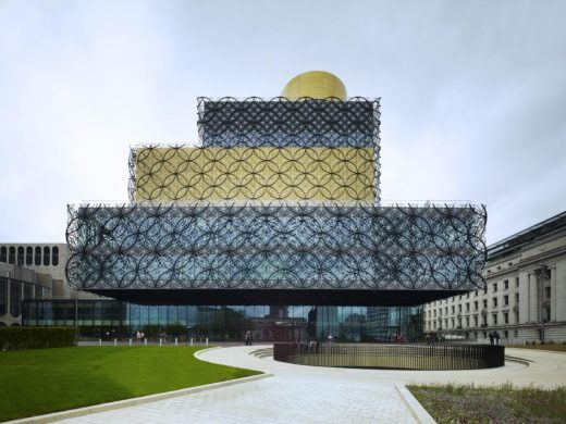 The Library of Birmingham building England