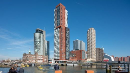 Montevideo Residential Tower in Rotterdam, Netherlands