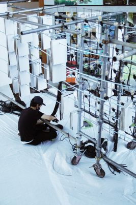 The Matter of Facts Tokyo installation construction