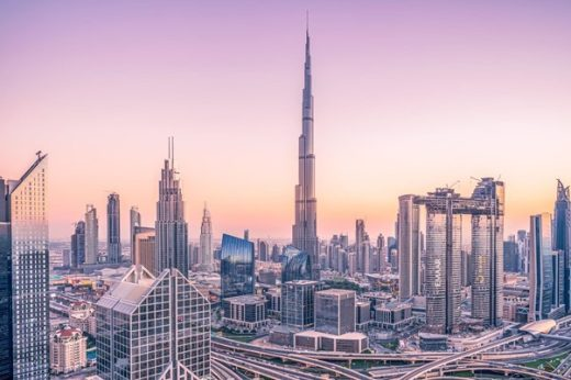 Why is Dubai considered as capital of architecture?